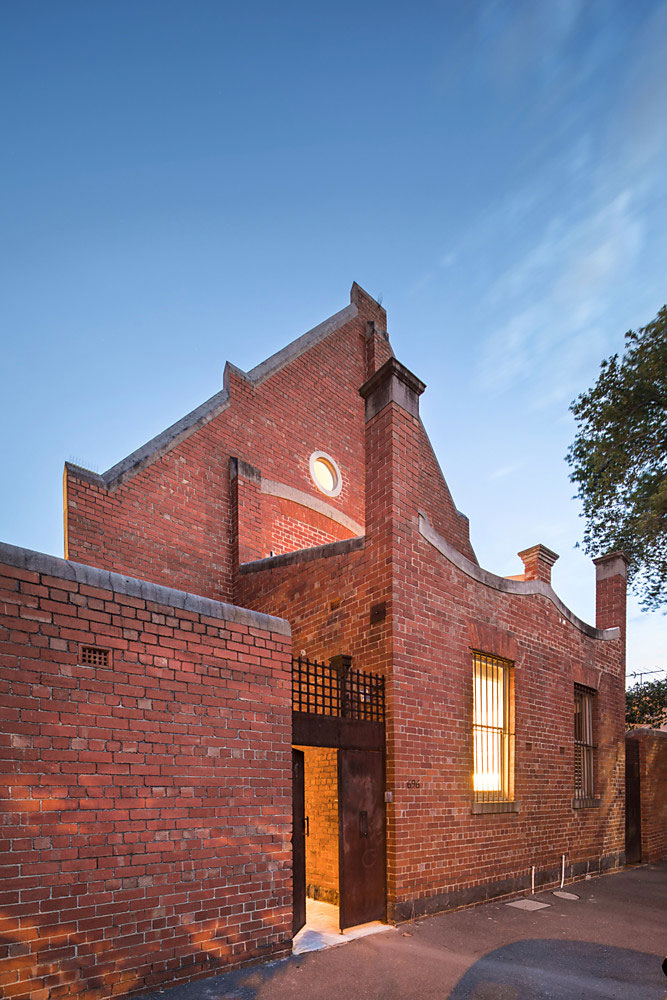 Современный дом в бывшем здании церкви в Мельбурне