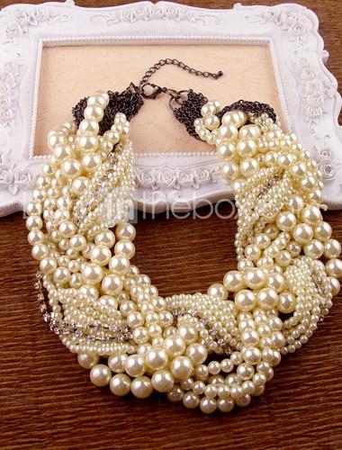 Жемчужный ожерелье своими руками