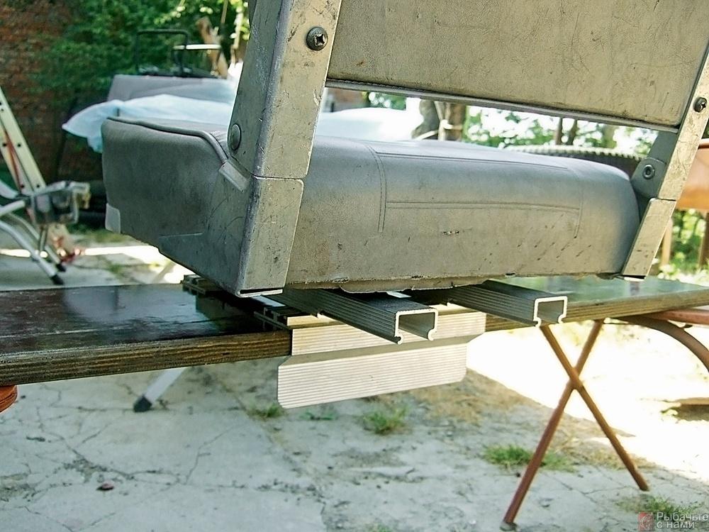 самоделки для лодки и кресло