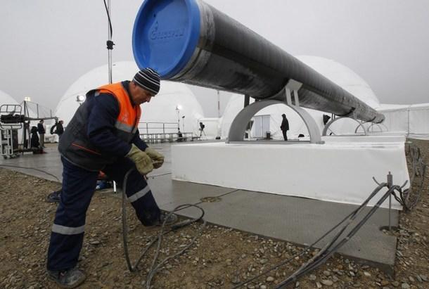 """Газпром"" завершает газифика…"