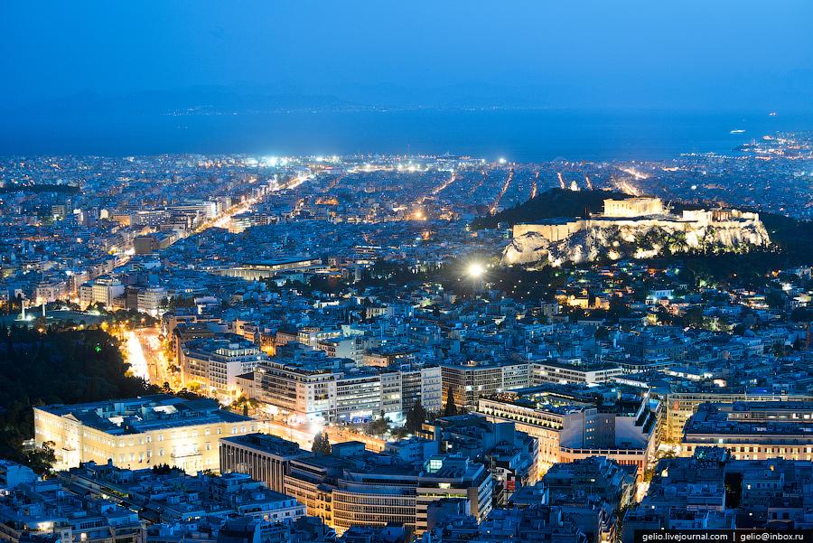 Афины-столица Греции.