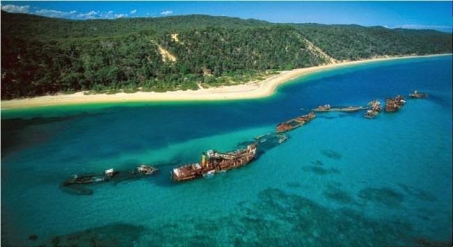 Отдых на острове затонувших кораблей