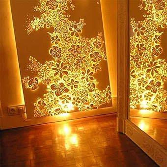 Стена-светильник украсит ваш дом
