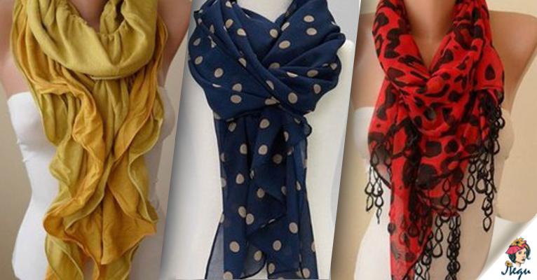 Как правильно носить женский шарф: 58 лучших осенних вариантов!