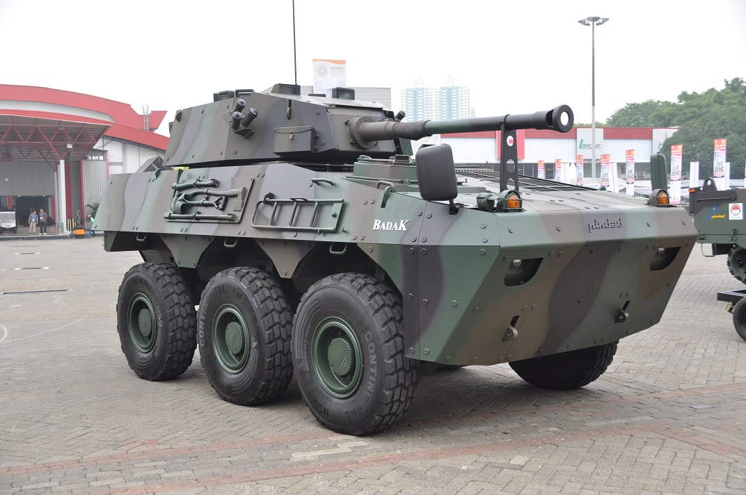 Индонезийская бронетанковая техника на выставке Indo Defense 2018. Часть 1