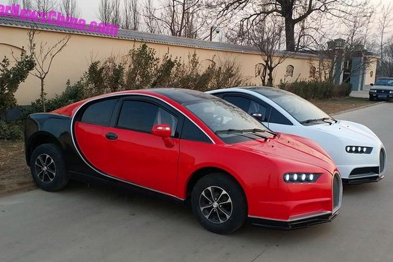 Китайцы сделали Bugatti для тех, у кого нет водительских прав