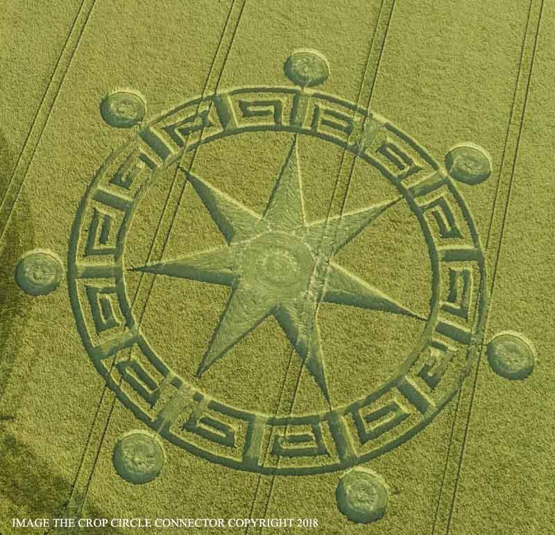 В английском графстве Дорсет обнаружен рисунок на поле