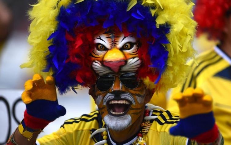 Самые яркие и сумасшедшие фанаты на Чемпионате мира по футболу 2014 в Бразилии
