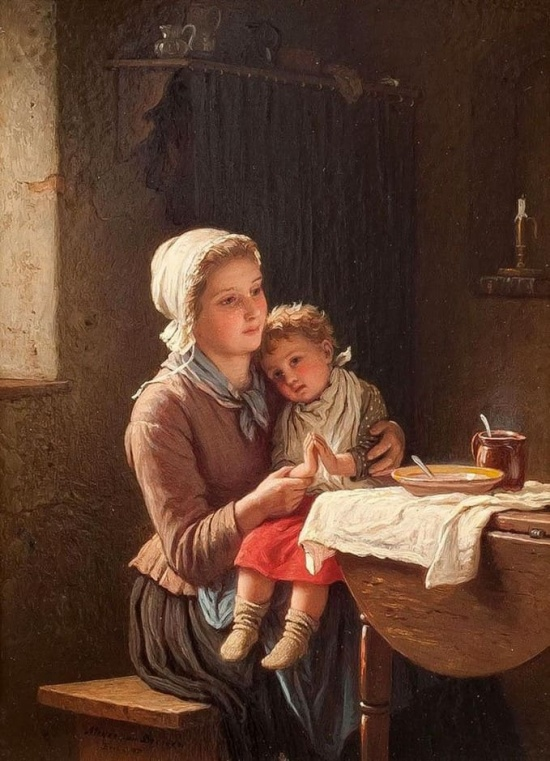 художник Иоганн Георг Майер фон Бремен (Johann Georg Meyer von Bremen) картины – 31