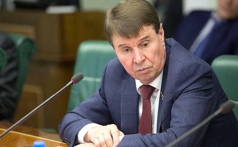 Цеков ответил Лебединскому, призвавшему РФ «поклониться» Украине