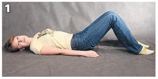 Упражнения, которые помогут при болях в пояснице