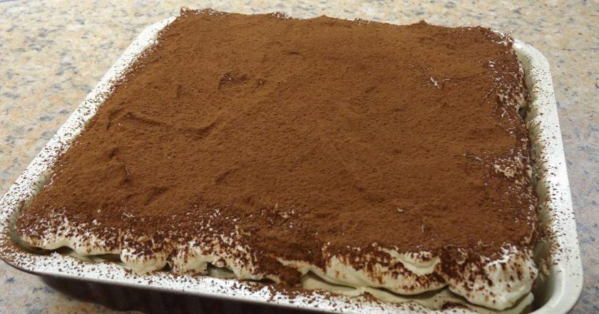 Творожный торт со сливками