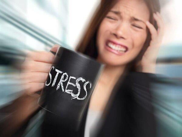 Стресс - может стать причиной прогрессирования болезни