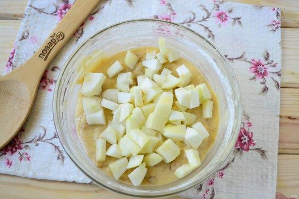 Яблочная блонди с пряностями
