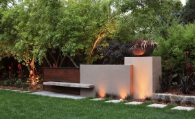Подсветка в ландшафтном дизайне
