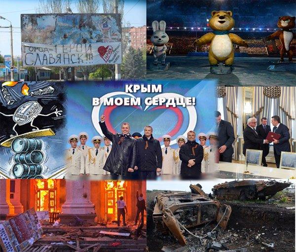 Итоги 2014 года. Россия. Украина