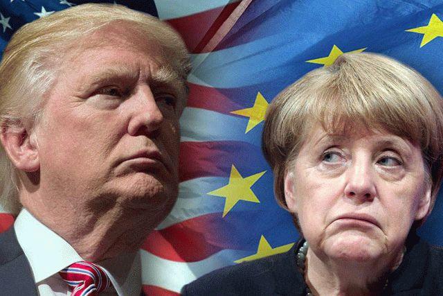 Меркель: торговый конфликт с США может перерасти в торговую войну