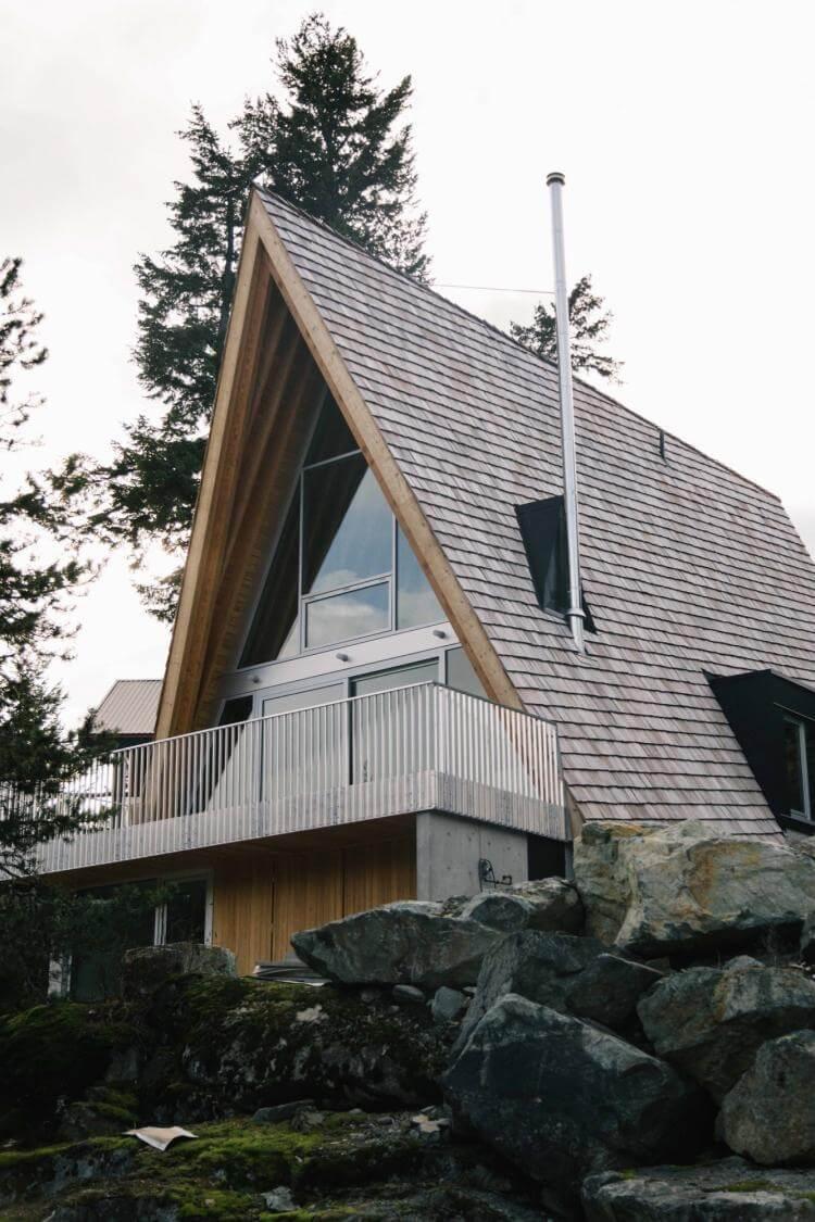 Dreieck Haus