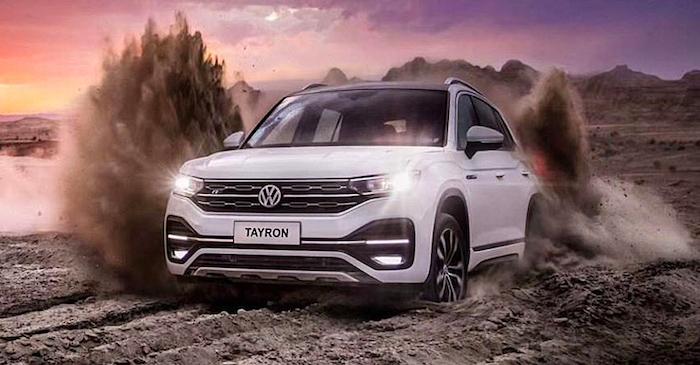 Кроссовер Volkswagen Tayron вновь стал бестселлером