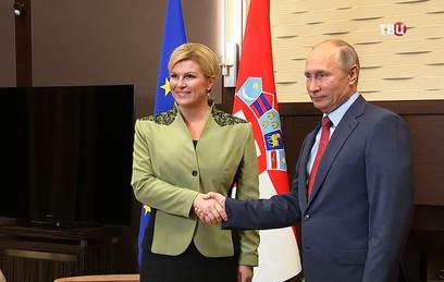 Путин рассказал о значительном росте товарооборота с Хорватией