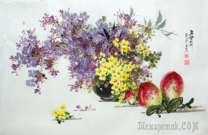 Цветы - в них только и есть,…