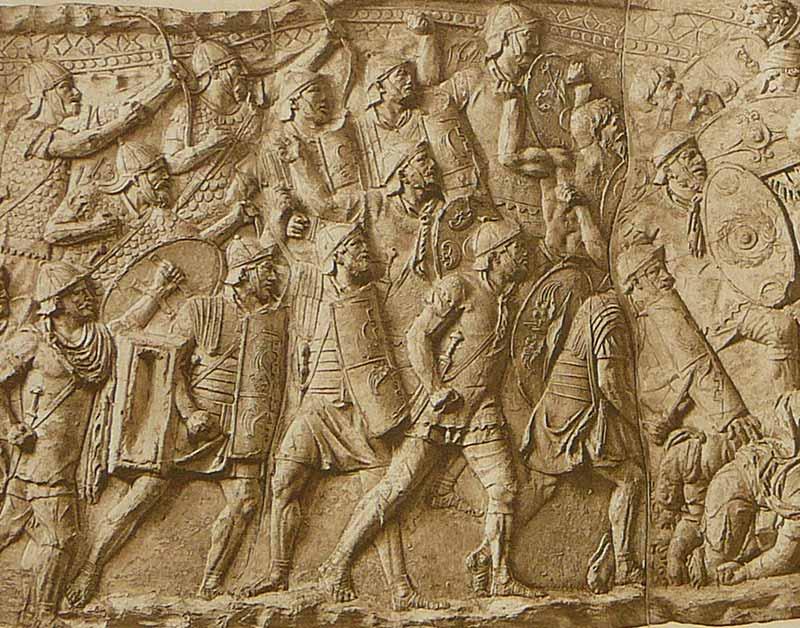 Вооружение римская армия принципата