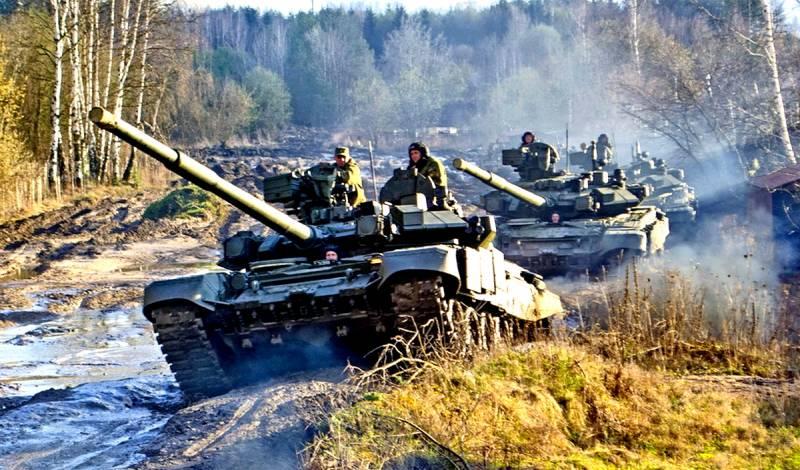 В Европе с нетерпением ждут российские танки
