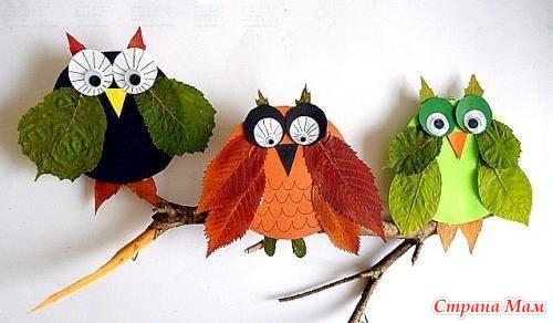 Осенние поделки. Рукодельничаем вместе с детьми
