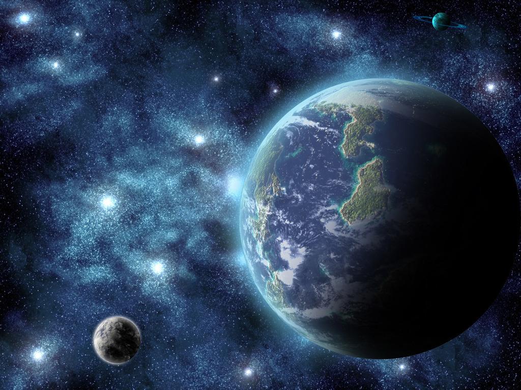 Смещение полюсов Земли.