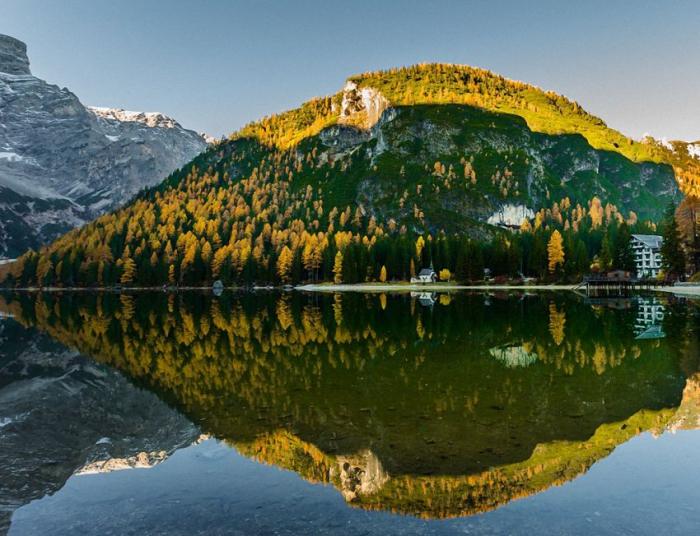 отражение в воде природа 23 (700x536, 432Kb)