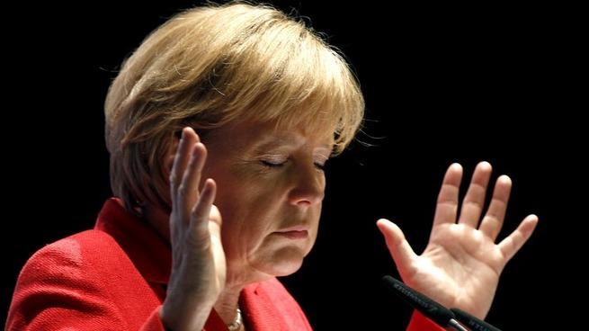 Schwäbische Zeitung: в Сочи Путину придётся слушать, а говорить Меркель будет