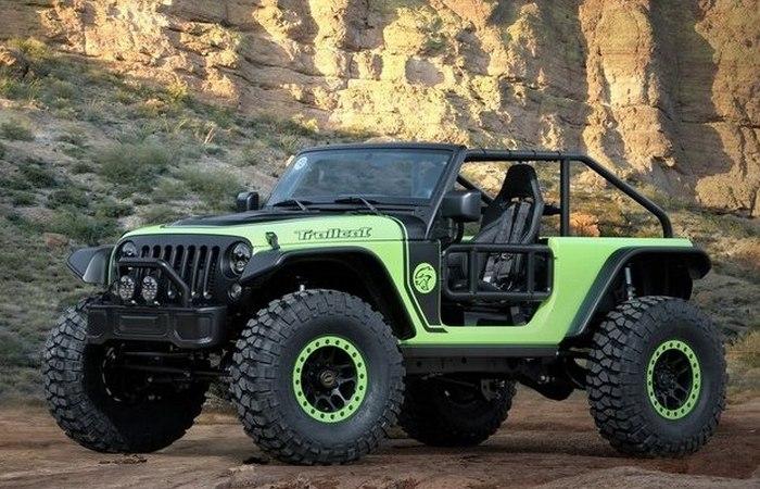 7 принципиально новых концептуальных внедорожников от Jeep