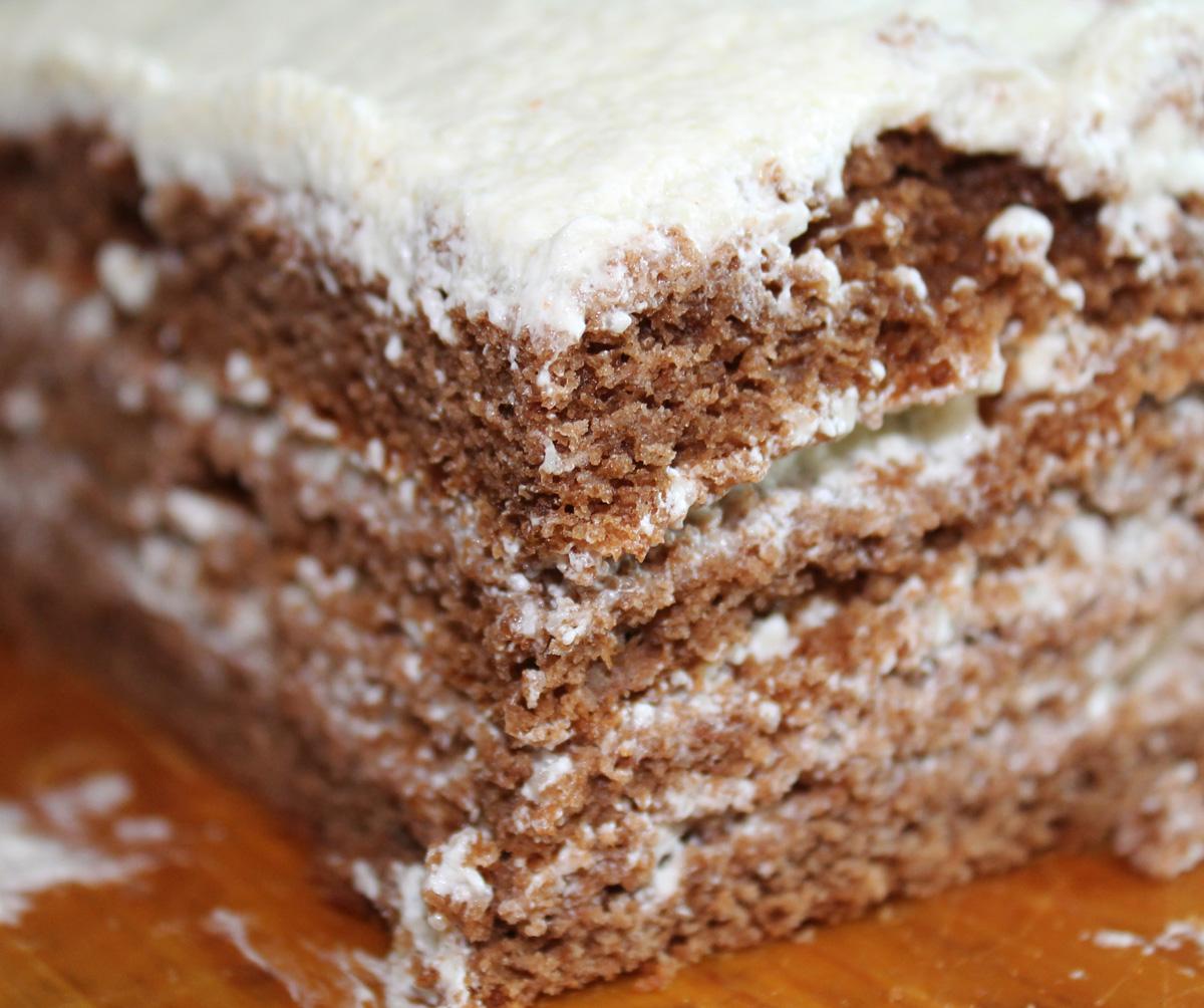 Торт с манным кремом рецепт пошагово в домашних условиях