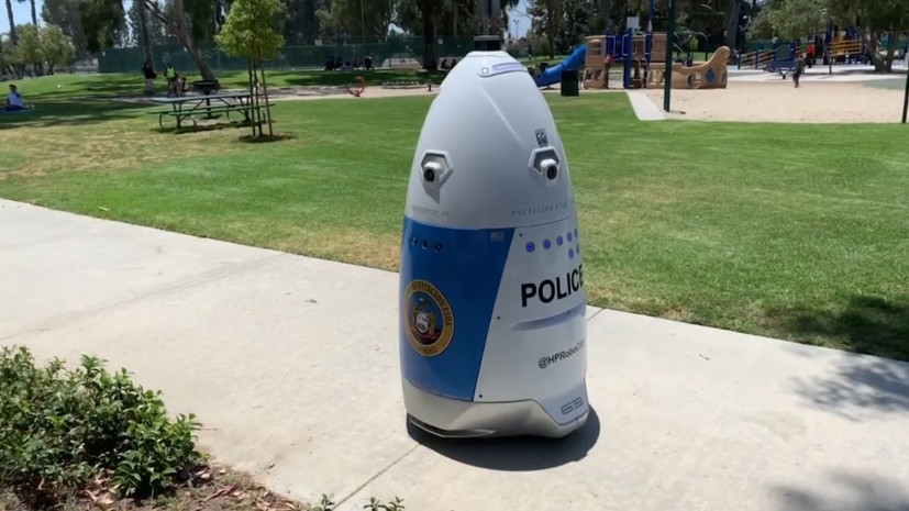 Робот-полицейский заступил на службу в США