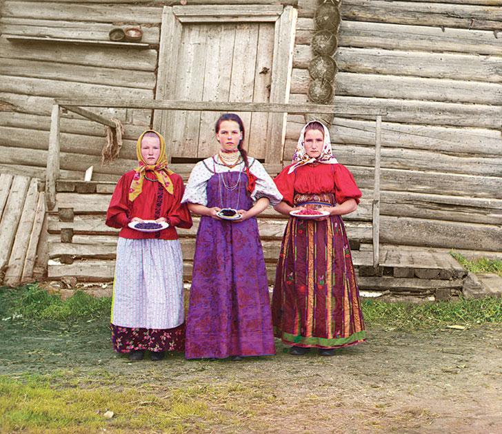 Во всей красе: Нищета и величие на первых цветных снимках Российской империи