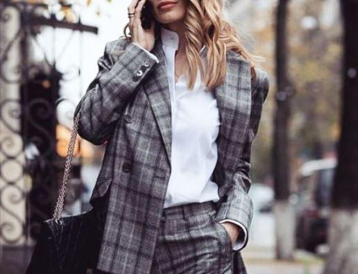 Под знаком клетки  — самые модные вещи осени 2018