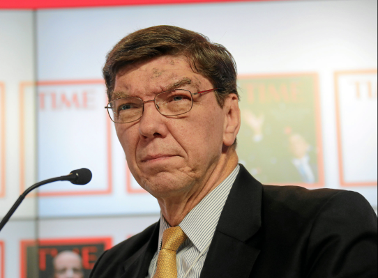 """Clayton Christensen, author of """"The Innovator's Dilemma,"""" has passed away at age 67"""