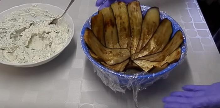 как приготовить террин баклажановый