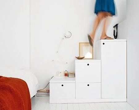 Практичная и компактная лестница: несколько идей