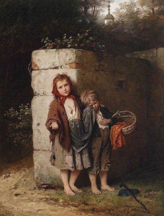 художник Иоганн Георг Майер фон Бремен (Johann Georg Meyer von Bremen) картины – 03