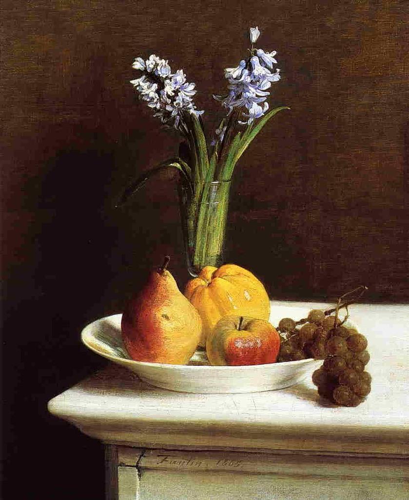 Изящество неяркого букета... Французский художник Henri Fantin-Latour