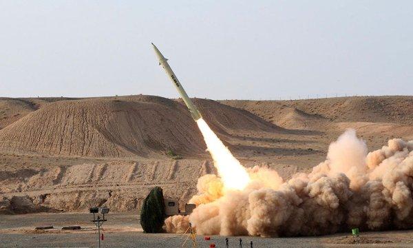 Перехват израильских ракет в…