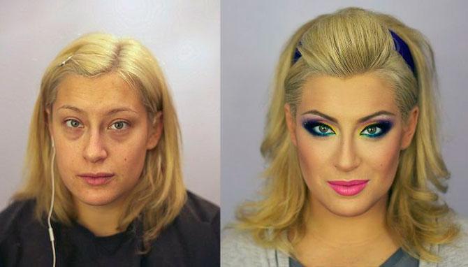 Чудеса макияжа.