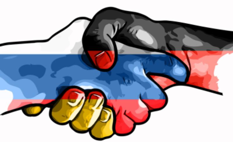 Чёрный обелиск российско-нем…