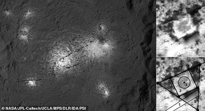 ИИ увидел на Церере структуры искусственного происхождения