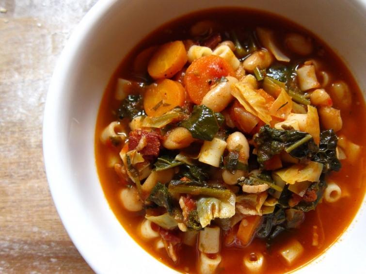 Минестроне Блюда итальянской кухни блюда Италии