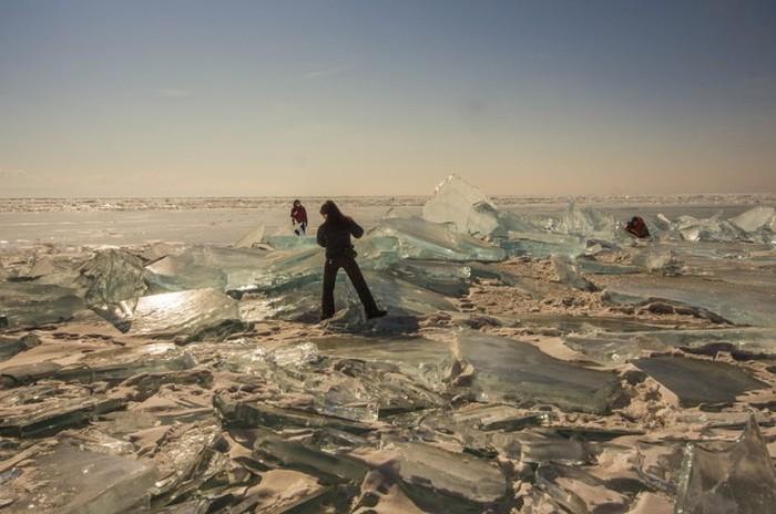 Красоты зимнего Байкала (35 фото)