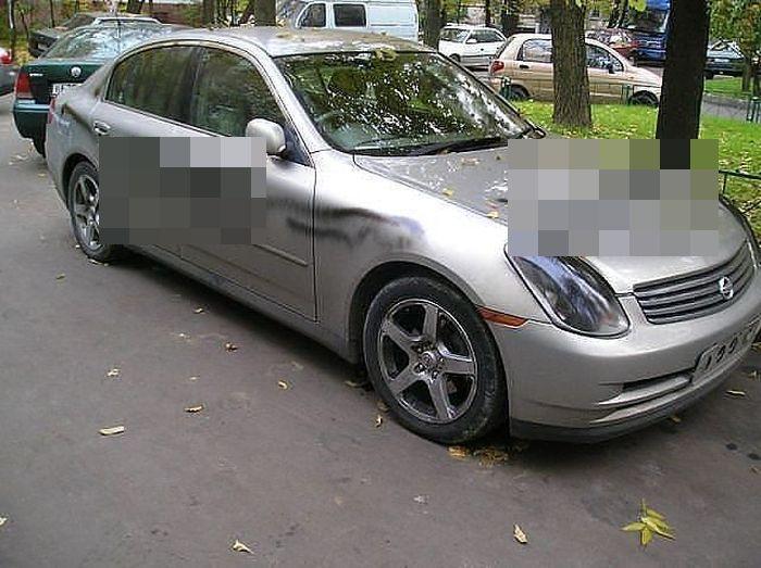 Подборка автомобилей, владельцам которых отомстили