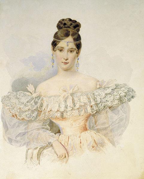 Натали Гончарова. 200 лет со дня рождения.