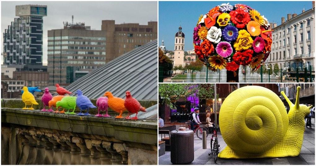 Цвета большого города: яркие инсталляции современных художников